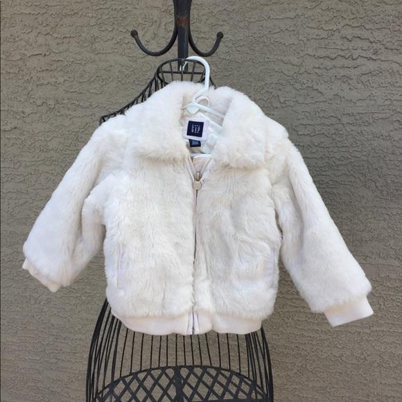 4T gap fur coat